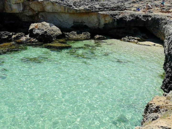 La casa al mare di Micaela, Monopoli, Puglia