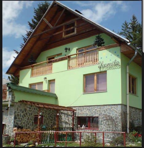 Ubytovanie v krasnom prostredi Vysokych Tatier