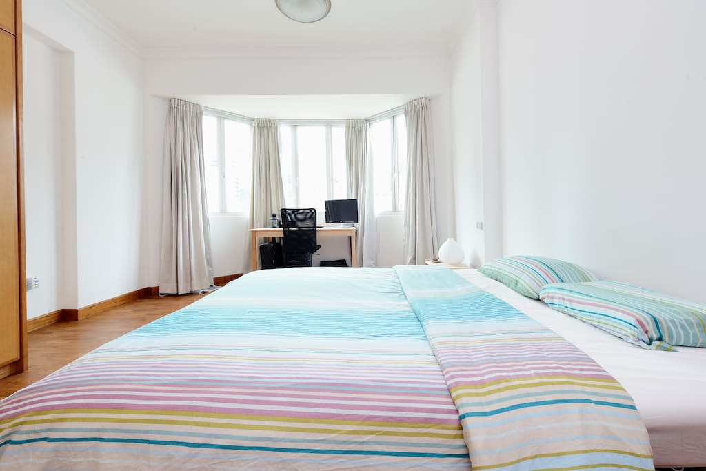 Big, bright room