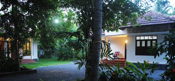 Stay in a Kerala village farm house