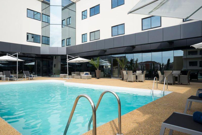 Fiesta Residences Pool Area