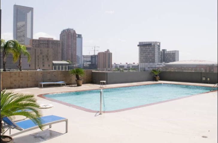 Downtown High Rise Apt with Parking - Houston - Apartamento