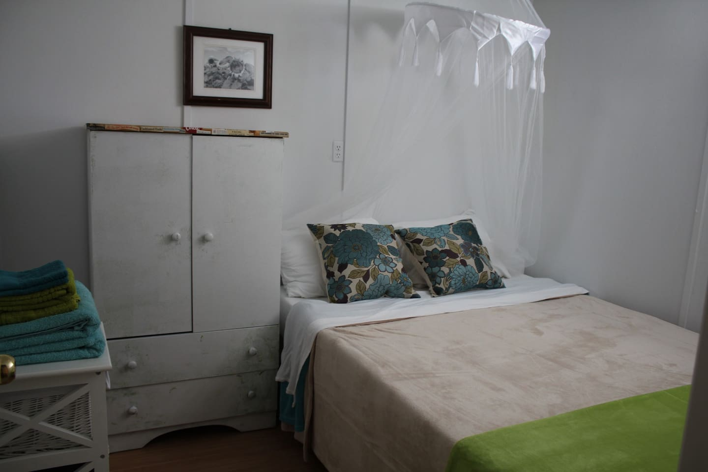 Bedroom #2 - we will put you in the nicest room we have available.  Clean cozy real bed new clean sheets