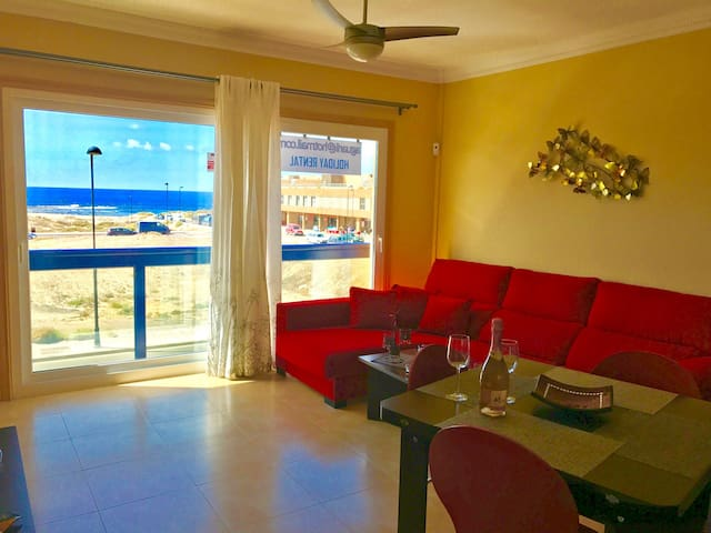 Aguarii:seaview/wifi/pool/solarium - El Cotillo - 公寓