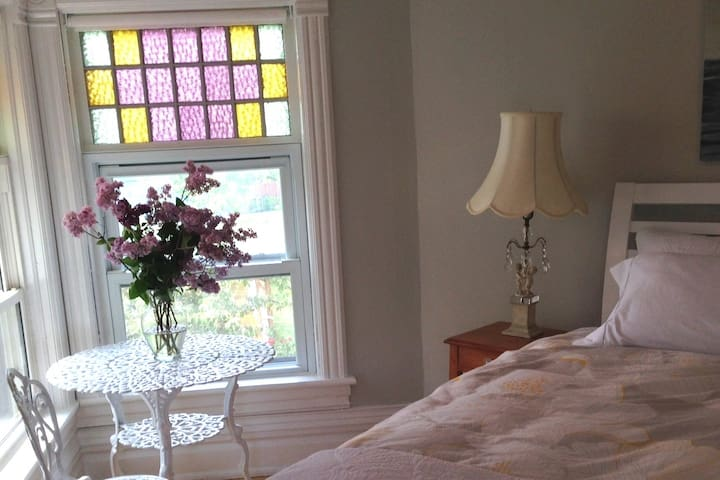 Comfortable light filled rooms