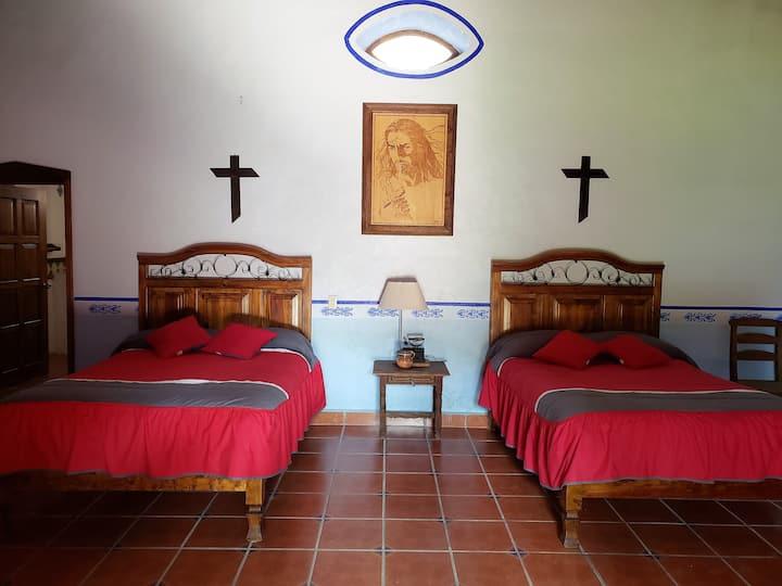 Habitación Aguamiel en Hacienda San Buenaventura