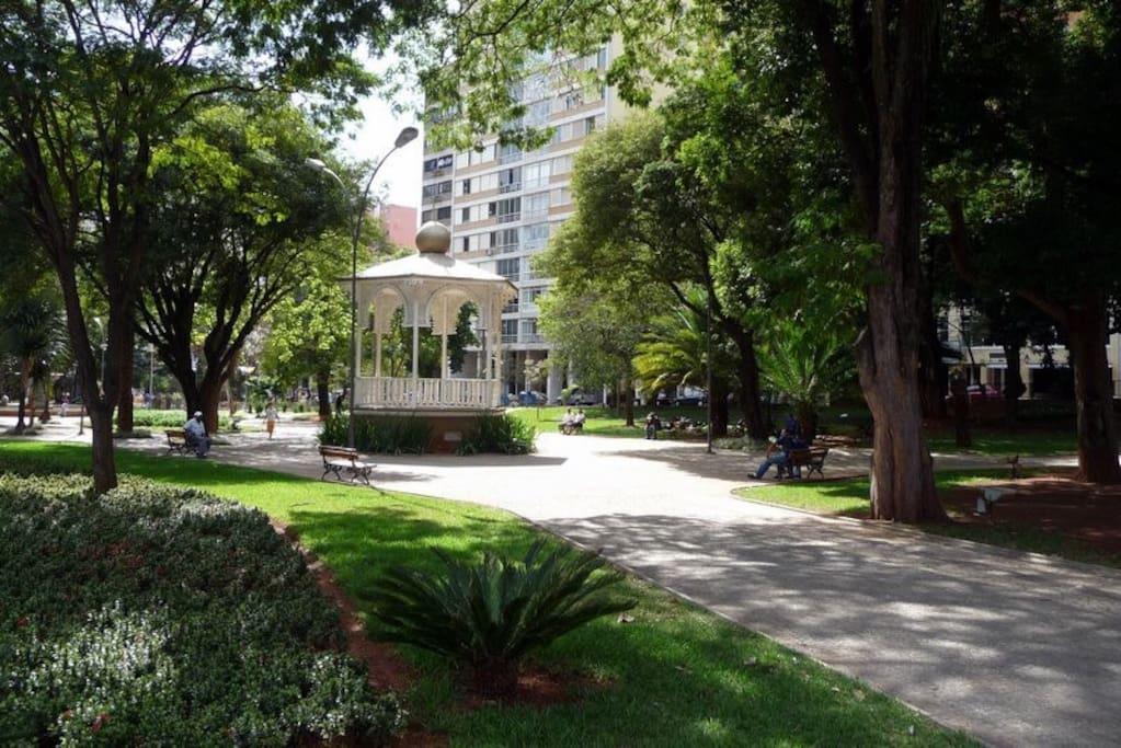 Praça Largo do Pará - centro de Campinas/SP
