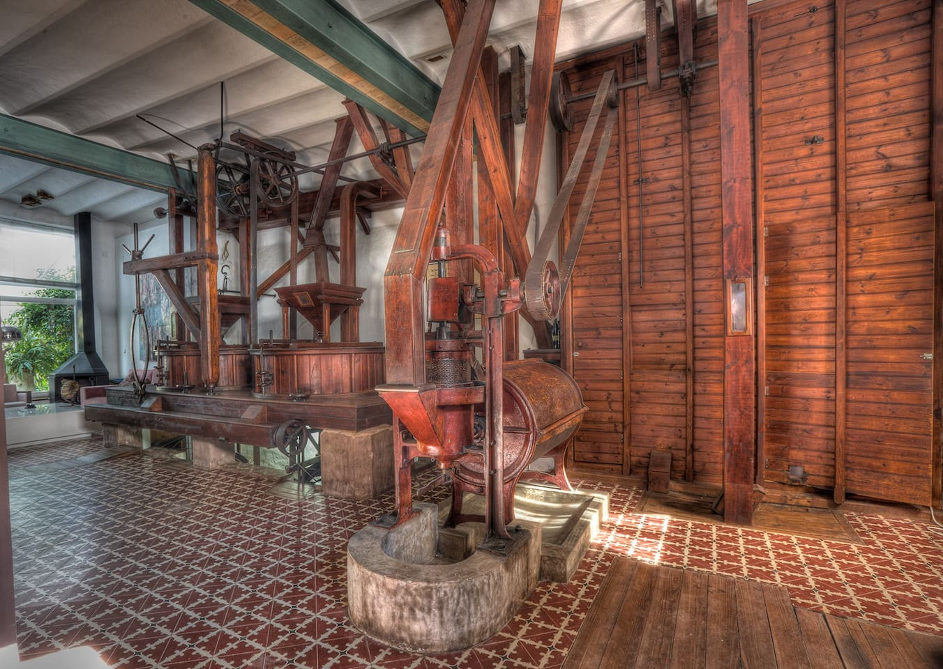 Mill equipment - Maquinaria de la fábrica de harina