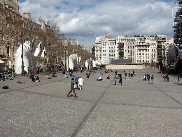 Situé en plein centre de Paris