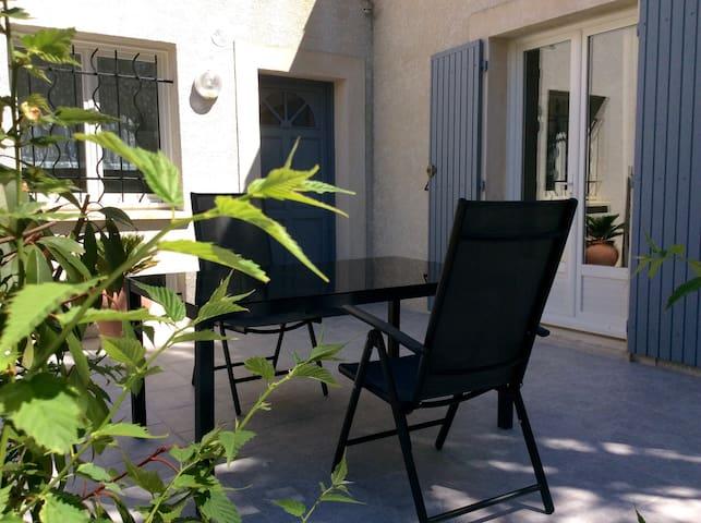 Studio à 20 min des plages au calme - Villetelle - Appartement