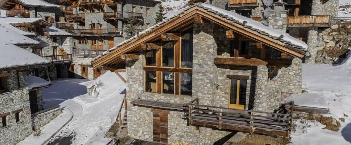 Chalet Val-d'Isère 50m - téléphérique du Fornet