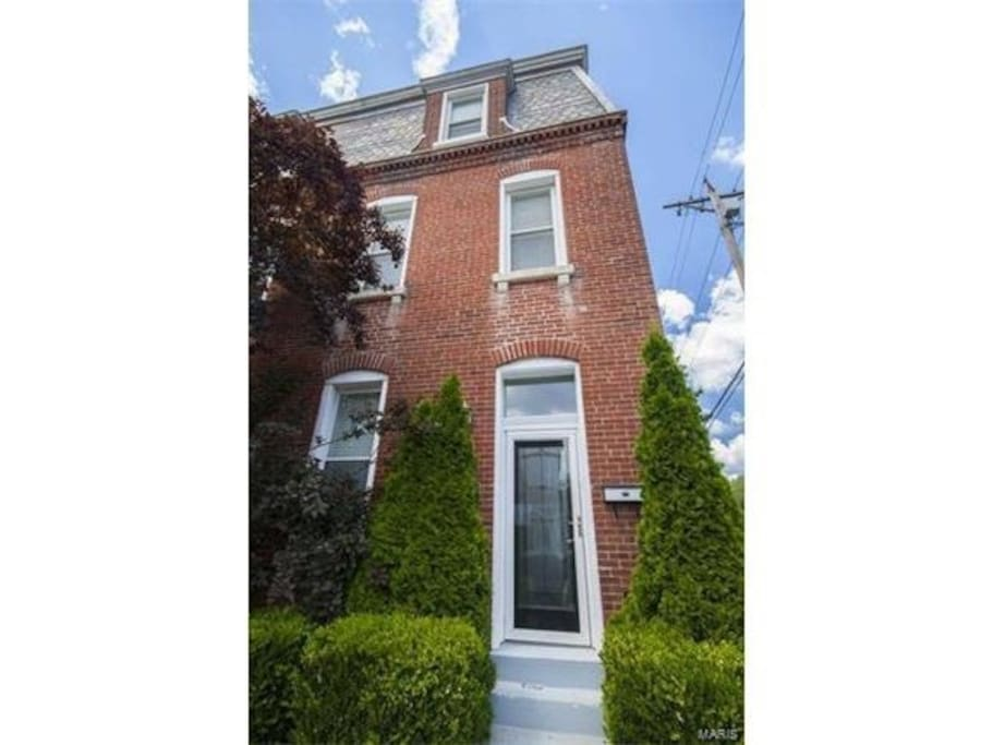Charming Benton Park Smart Townhome Townhouses For Rent In St Louis Missouri United States