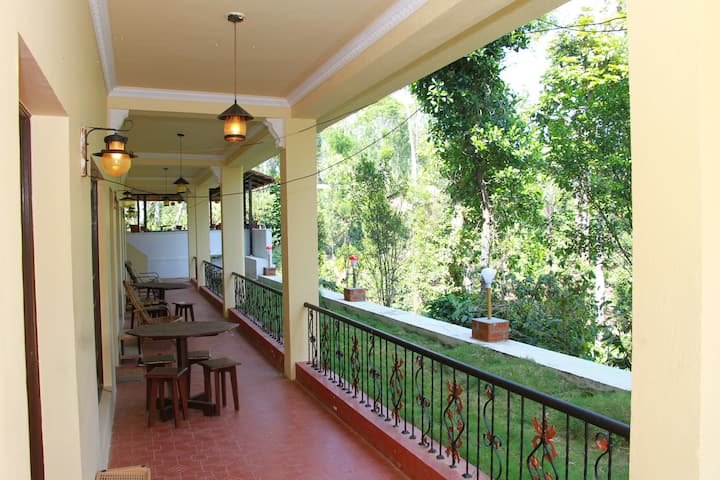 Plantation Stay with River Stream