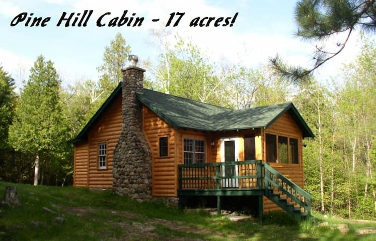 Cozy Cabin with fireplace-17 acres  - Wilmington - Hus