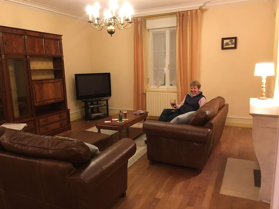 The lounge / TV room