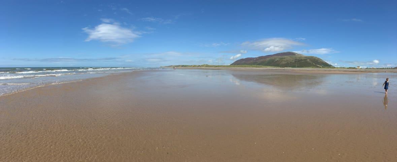 Silecroft Beach..a beach with a view