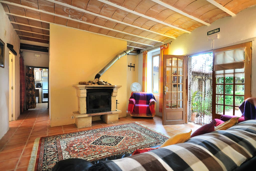 Large and airy lounge/diner 30m2,  leading to  4 bedrooms and kitchen with private rear terrace and garden.