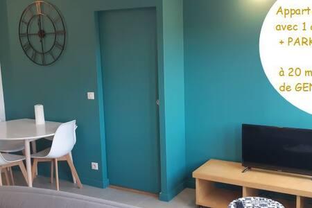 Superbe Appartement à 200m du Métro pour Genève