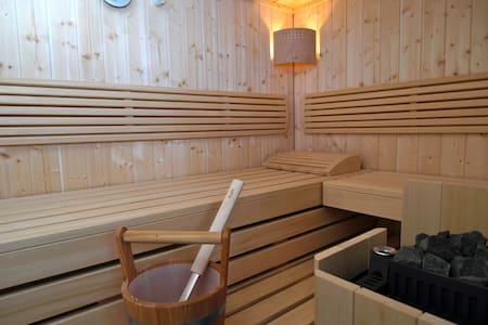 Wellness-Apartment mit Sauna - Lipsia