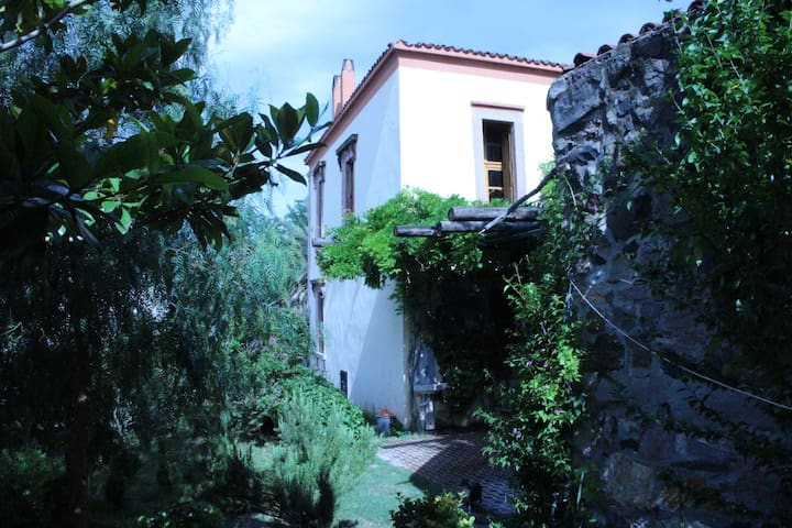 Old Stone House with garden/view - Ayvalık - Huis