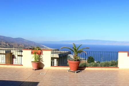 ♥Fewo bei Taormina mit 2 Terrassen♥ - Forza d'Agrò