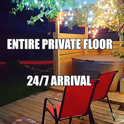 Private Floor, close to zoo, river - Toledo - House