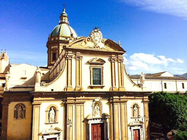 Chiesa del Gesù - Palermo - Apartment