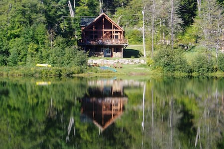 New Lakefront Log Home - Wilmington