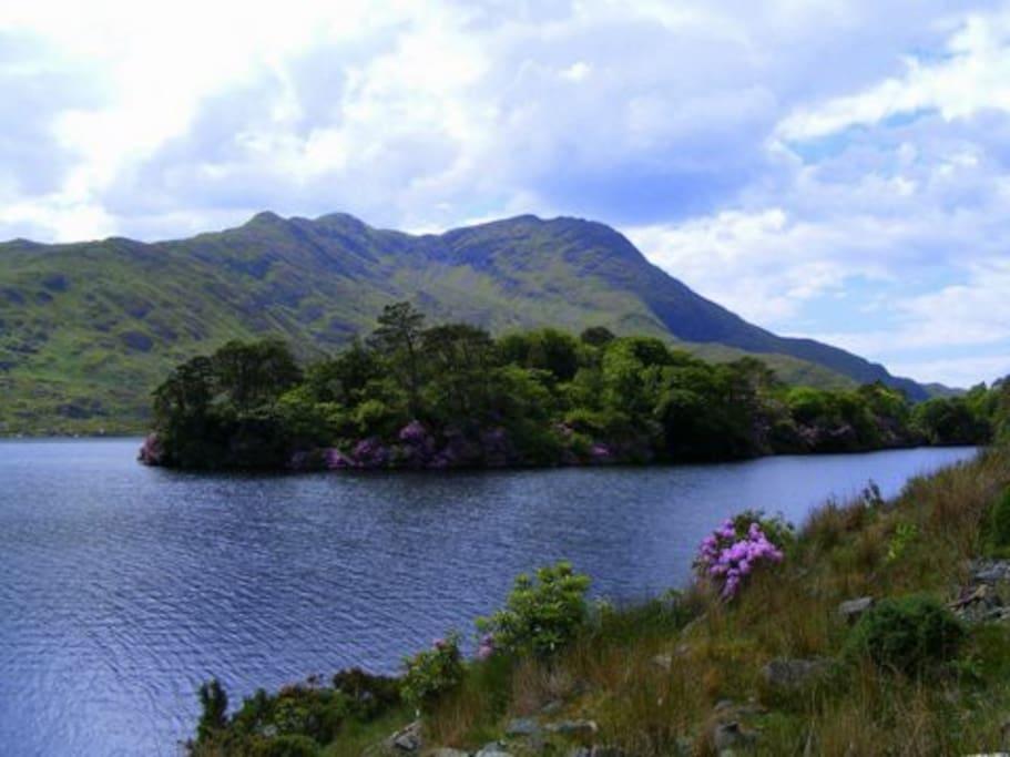 Beautiful Connemara scenery