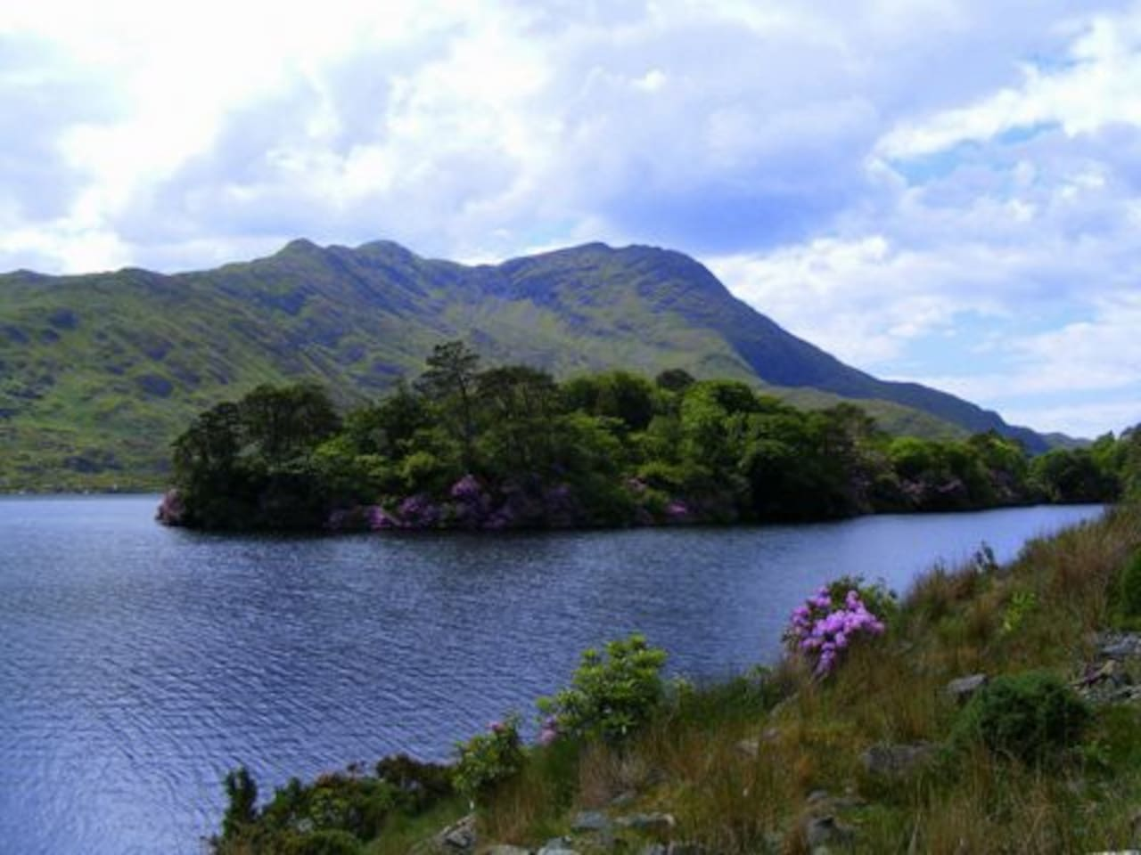 Beautiful Connemara scenery