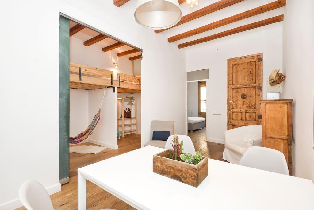 Quiet lovely 5 to the beach appartamenti in affitto a for Affitti appartamenti barcellona spagna