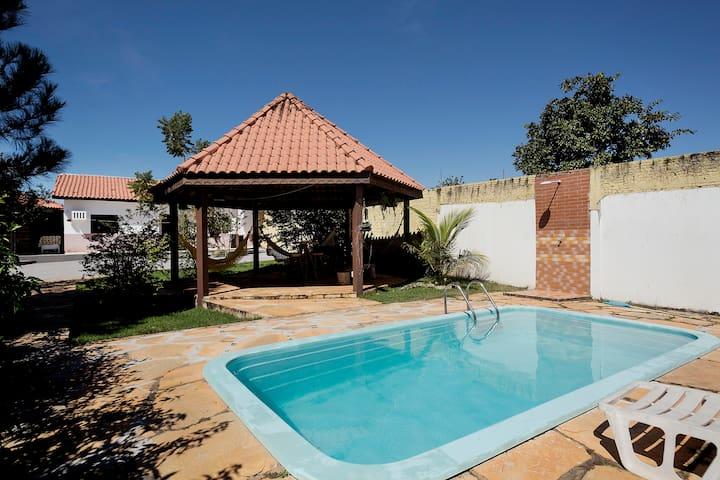 Rustic house Chapada dos Guimarães - Chapada dos Guimarães - Hus
