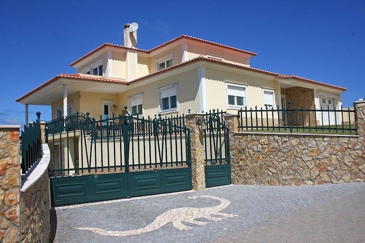 A Villa on a Farm next to the Beach