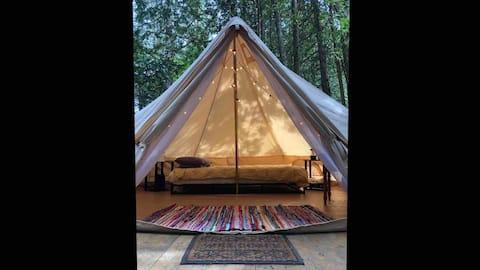 Tiki Hut Yurt- Bula