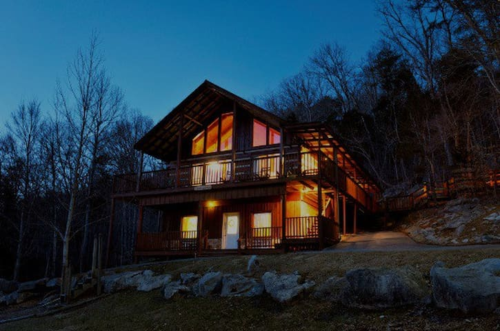 Family 4/3.5 cabin in the Smokies - Deer Lodge - Townsend - Cabana