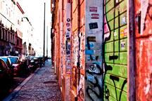 Tag et street art à San Lorenzo
