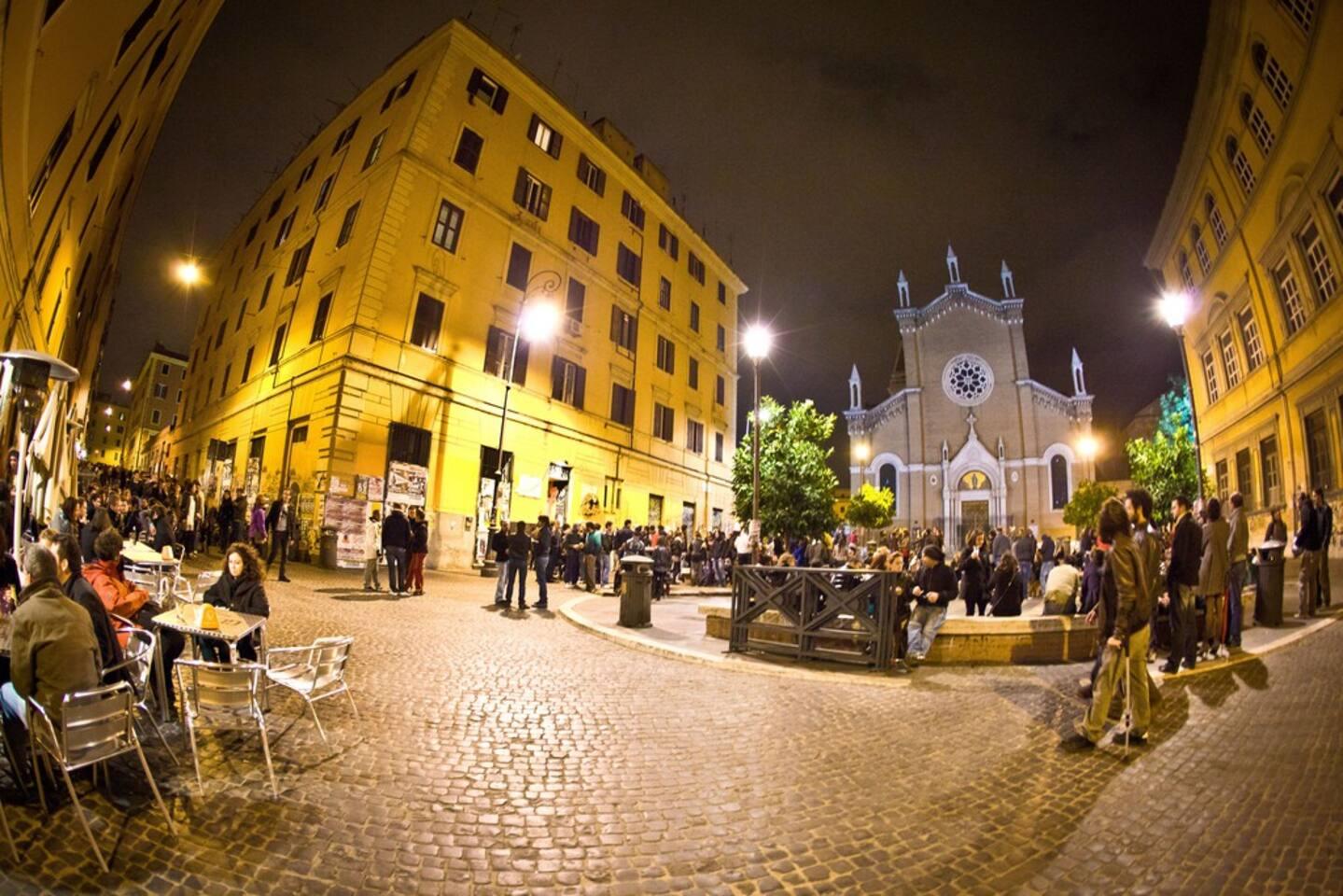 la place centrale de San Lorenzo