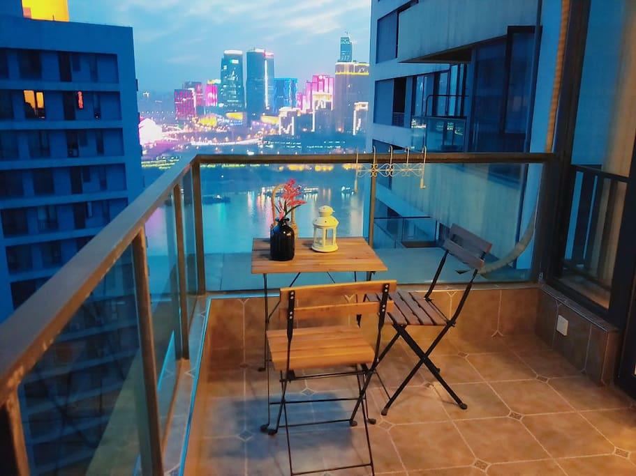 靓宅1804阳台景观