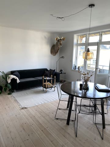 New renovated central apartment with balcony