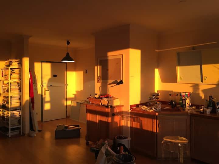 Bright Artist Studio,  Close to Hamburg Harbour