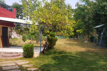 Farmstay with private lawn
