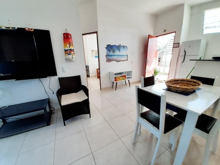 Apartamento villa remanso na praia de Jabaquara