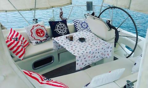 foça'nın keyfini denizde yaşa ,Konaklama ve Yelken