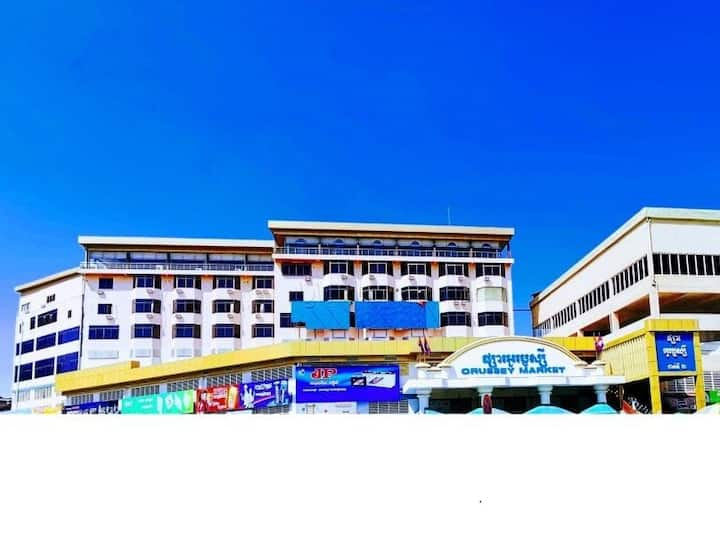 PhnomPenh Center Orusseyhotel CityView King Room C