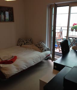 Nice double room,balcony & bathroom