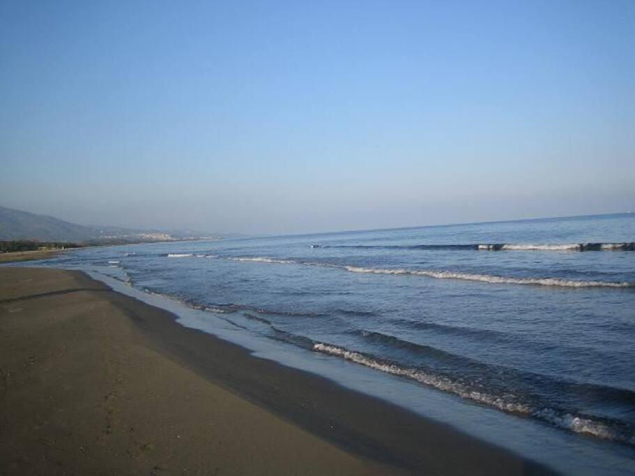 Mare e spiaggia Villapiana Scalo (CS)