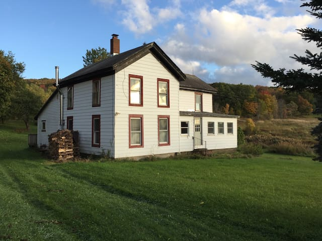 Farmhouse on 50 Acres - Sidney Center