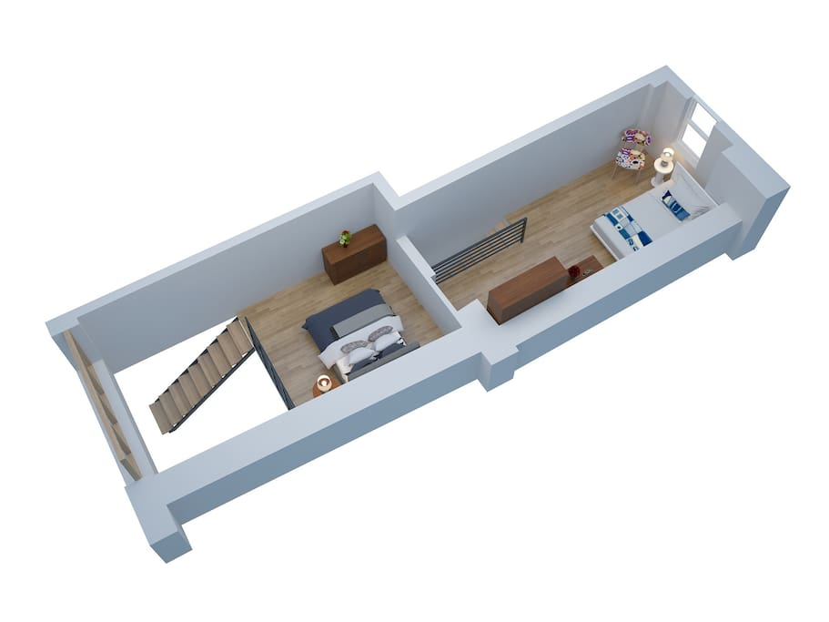 loft gare grenoble centre garage 2 chambres in grenoble auvergne rh ne alpes france. Black Bedroom Furniture Sets. Home Design Ideas