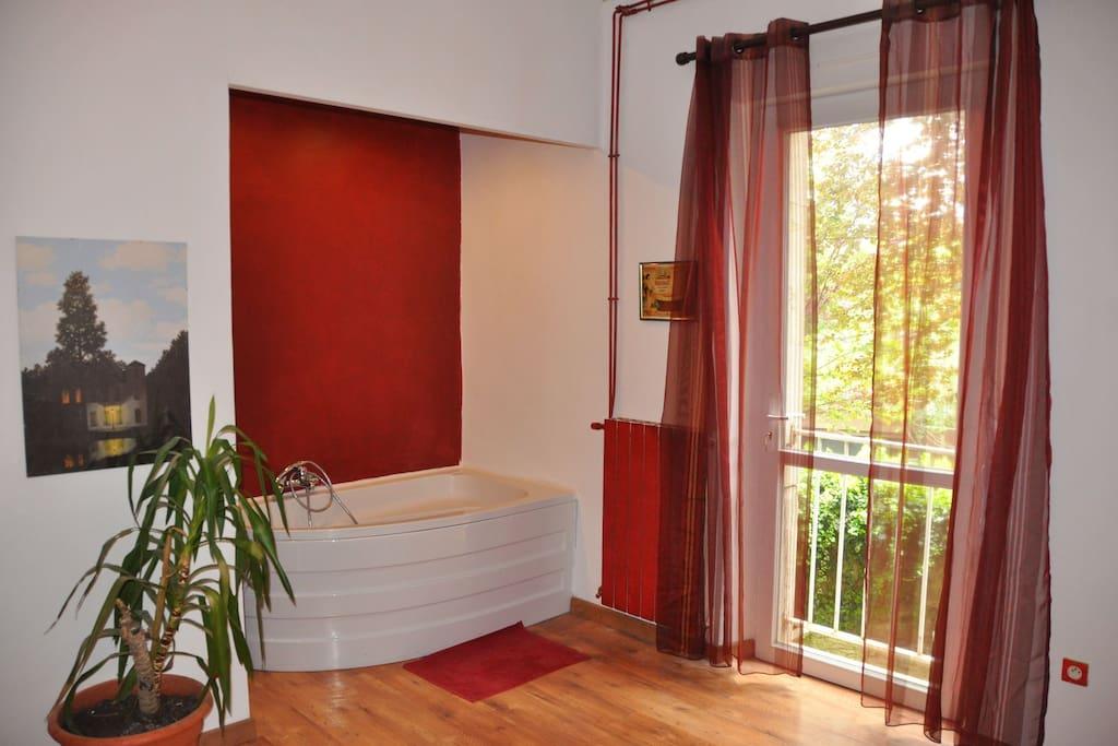 t2 chambre avec baignoire wc salon cuisine maisons louer carcassonne languedoc. Black Bedroom Furniture Sets. Home Design Ideas