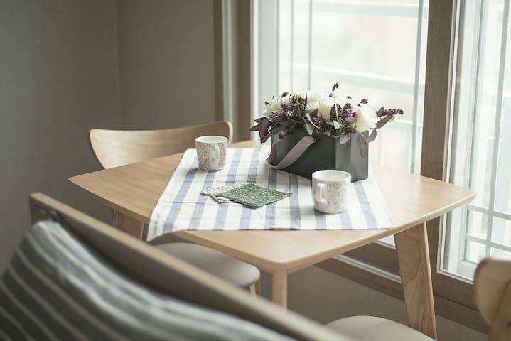 [Grand Open]깨끗하고 위치좋은 해운대(동백역) B&B